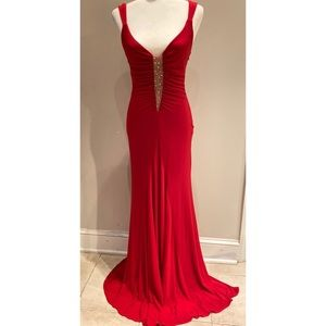 Jovani Red Gown